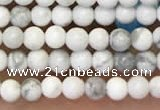 CTG2087 15 inches 2mm,3mm natural white howlite gemstone beads