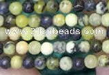 CTG2090 15 inches 2mm,3mm yellow turquoise gemstone beads