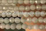 CTG2155 15 inches 2mm,3mm faceted round amazonite gemstone beads