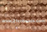 CTG2156 15 inches 2mm,3mm faceted round white moonstone beads