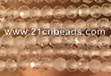 CTG2158 15 inches 2mm,3mm & 4mm faceted round white crystal beads