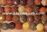 CTG2217 15 inches 2mm,3mm faceted round mookaite gemstone beads