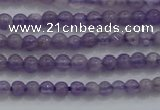CTG252 15.5 inches 3mm round tiny amethyst gemstone beads