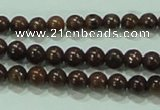 CTG47 15.5 inches 2mm round tiny tiger jasper beads wholesale