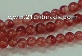 CTG59 15.5 inches 2mm round tiny dyed white jade beads wholesale