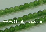 CTG63 15.5 inches 2mm round tiny dyed white jade beads wholesale