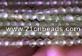 CTG743 15.5 inches 2mm faceted round tiny prehnite beads