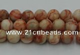 CTJ700 15.5 inches 4mm round red net jasper beads wholesale