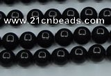 CTK02 15.5 inches 6mm round tektite gemstone beads wholesale