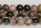 CTO352 15.5 inches 10mm round natural tourmaline gemstone beads