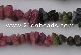 CTO394 15.5 inches 4*6mm - 5*8mm tourmaline chips gemstone beads