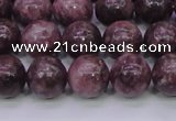 CTO604 15.5 inches 12mm round Chinese tourmaline beads wholesale