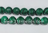 CTU1823 15.5 inches 8mm faceted round synthetic turquoise beads