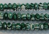 CTU2048 15.5 inches 5*8mm rondelle synthetic turquoise beads