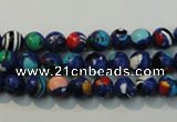 CTU2071 15.5 inches 6mm round synthetic turquoise beads