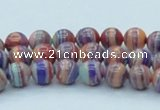 CTU240 16 inches 8mm round imitation turquoise beads wholesale