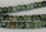 CTU2458 15.5 inches 3*4mm rondelle African turquoise beads wholesale