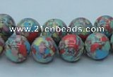 CTU261 16 inches 12mm round imitation turquoise beads wholesale