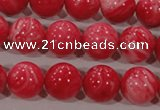 CTU2614 15.5 inches 12mm round synthetic turquoise beads