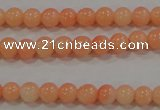 CTU2630 15.5 inches 3mm round synthetic turquoise beads