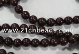 CTU2820 15.5 inches 4mm round synthetic turquoise beads
