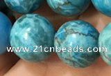 CTU3019 15.5 inches 12mm round South African turquoise beads