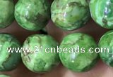 CTU3033 15.5 inches 10mm round South African turquoise beads