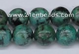 CTU430 15.5 inches 14mm round African turquoise beads wholesale