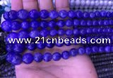 CTZ520 15.5 inches 3mm - 12mm round natural tanzanite gemstone beads