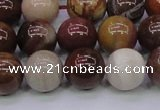 CWJ405 15.5 inches 14mm round wood jasper gemstone beads wholesale