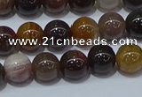 CWJ502 15.5 inches 8mm round Xinjiang wood jasper beads wholesale