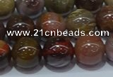 CWJ504 15.5 inches 12mm round Xinjiang wood jasper beads wholesale