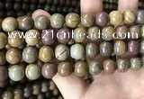 CWJ565 15.5 inches 10mm round wood jasper beads wholesale