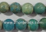 CXH105 15.5 inches 14mm round dyed Xiang He Shi gemstone beads