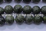 CXJ250 15.5 inches 4mm round Russian New jade beads wholesale