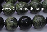 CXJ254 15.5 inches 12mm round Russian New jade beads wholesale