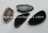 NGP1193 40*60mm - 50*70mm freeform agate gemstone pendants wholesale