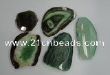 NGP1261 35*45mm - 45*70mm freeform agate gemstone pendants wholesale