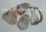 NGP1270 40*50mm - 60*80mm freeform agate gemstone pendants wholesale