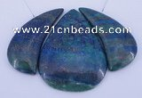NGP59 Fashion chrysocolla gemstone pendants set jewelry wholesale