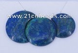 NGP68 Fashion chrysocolla gemstone pendants set jewelry wholesale